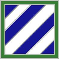 3rd Infantry Division Combat Service ID Badges